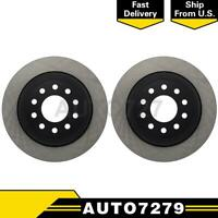 Centric Parts Rear 2PCS Disc Brake Rotor For Lincoln Town Car