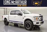 2020 Ford F-150 Lifted Supercharged Crew 4x4 650 HP MSRP$83505 helby Style Active Exhaust Roushcharged Fox Shocks Hood Scoop Fender Vents