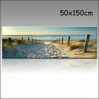 Home Hotel Canvas Print Wall Art Ocean Beach Nature Landscape Picture For Decor
