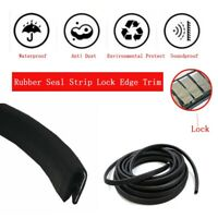 Door Rubber Seal Auto Parts Weather Stripping Strip Trim Lok Moulding Strip 15ft