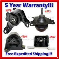 K010 Fit 03-09 Honda Element 2.4L Engine Motor & Trans Mount Set for AUTO TRANS