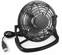 mumbi USB Ventilator Mini Tisch Venti Fan f. Computer Notebook Laptop schwarz