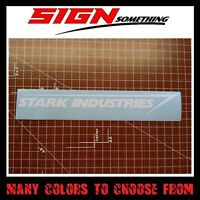 Stark Industries sticker / decal / vinyl *Multiple colors & Sizes* Iron Man