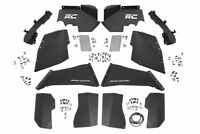 Rough Country - 10511 - Front & Rear Steel Inner Fenders / Fender Liners Comb...