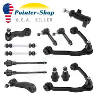 13pc Complete Front Suspension Kit for Chevy Tahoe & GMC Sierra 1500 4x4 - 6-Lug