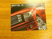 2013 FORD F-150 WHATS NEW? ORIGINAL FACTORY DEALERSHIP SALES BROCHURE FLYER
