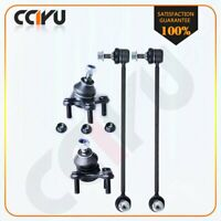 4 Suspension & Steering Parts Ball Joints Sway Bar Link for Volkswagen & Audi