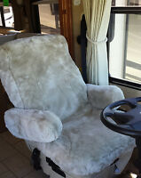 Sheepskin SeatCover,CARLAMB Custom A,B,C Class RV MOTORHOME,,AIRPLANE,SPORTSEATS