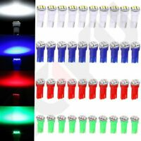 40x T5 74 3-SMD-3014 LED Speedometer Instrument Gauge Cluster Dash Light Bulbs