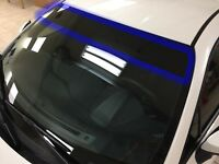 Universal Pre-Cut Sun Strip Tint Film Visor for Front Windshield 5% Limo shade