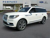 Navigator Select 2018 Lincoln Navigator Select 12 Miles White Platinum Metallic Tri-Coat Sport Ut