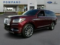 Navigator Select 2018 Lincoln Navigator Select 9 Miles Burgundy Velvet Metallic Tinted Clearcoat