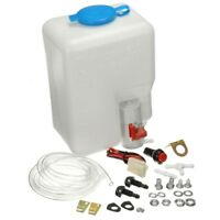 12V Universal Windscreen Washer Pump Bottle Kit Cleaning Tools For Classic Cars