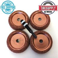 5pc Tire Changer Inner Liner Buffer Wheels Disc Radial Repair Patch BC1 14-324