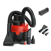 Portable 12V Wet Dry Vac Vacuum Cleaner Inflator Turbo Hand Held for Car Home