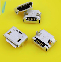 Micro USB Lade Buchse SMD 5Pin  Tablet Ladebuchse  Medion, Odys, Lenovo, Acer