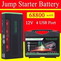 Portable 68800mAh Car Jump Starter Power Bank Pack Charger Booster Battery SOS S