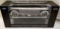NEW 1965 Mustang Desktop Sound Clock Thermometer & Hygrometer - MST65