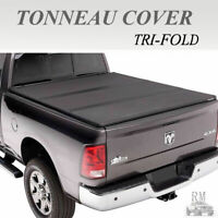 Lock Tri-Fold Hard Solid Tonneau Cover Fit 2005-2015 Toyota Tacoma 6FT Short Bed