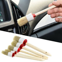 5 X Soft Bristle Brush Car Indoor Air-condition Brush Tool Car Care For all car