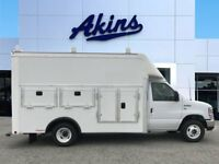 2018 Ford E-350 Super Duty  2018 Ford E-350 with 12ft Rockport Workport Tool Body