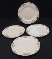 Virginia Rose by Homer Laughlin Bread Plates (set of 4) - Antique China