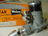 Webra  .20  cu in R/C  Engine  With original box.   No paper work / instructions