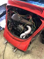 vw beetle engine 1600 with transaxle