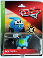 DISNEY PIXAR CARS 3 DELUXE WGP GLOBIE SUPER CHASE 2019 SAVE 5% IMPERFECT PACKAGE