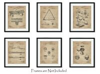 6 Billiards Patent Wall Art Prints - 8