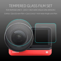 9H Tempered Glass Screen Lens Protector For Insta360 ONE R 1 Inch LEICA Camera
