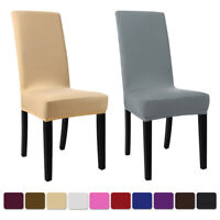Wedding Spandex Stretch Banquet Chair Covers Seat Slipcovers Dining Room