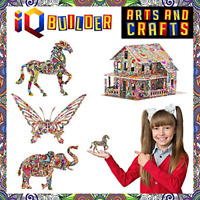 IQ BUILDER | ARTS AND CRAFTS FOR GIRLS AGE 7 8 9 10 11 12 YEAR OLD AND UP | 3D |