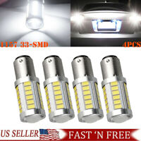2x H3 9-LED 12V Fog Light Bulbs/Driving Lights Replacement Bright White NEW