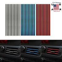 30X Auto Car Accessories Decoration Air Conditioner Air Outlet Strip Universal