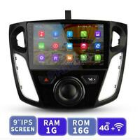 For 2012-2017 Ford Focus Car Stereo Radio 9'' Android 9.1 GPS OBD Wifi w/ Canbus