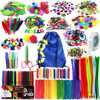Arts And Crafts Supplies For Kids Girls Toddler DIY Craft Art Supply Set With St