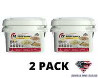 Emergency Food Supply Meal Storage Survival Bucket Rations 3 Day 72 Hour Kit