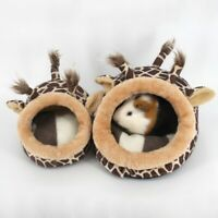 Guinea Pig Hamster Nest Cage Bed Small Animal House Warm Pad Kissen US
