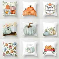 Pumpkin Print Pillow Case Throw Pillows Covers Pillowslip Cushion Home Supplies
