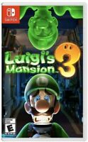 Brand New Sealed LUIGI'S MANSION 3 Nintendo Switch Video Game