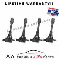FOR NISSAN SENTRA ALTIMA IGNITION COILS  2.5L C1398 PACK OF 4