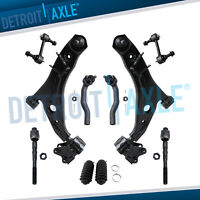 Front Lower Control Arm Inner Outer TieRod Kit 2007-2014 Ford Edge Lincoln MKX