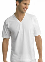 Jockey Mens Staycool V-Neck T-Shirt 2 Pack T-Shirts Shirts 100% cotton