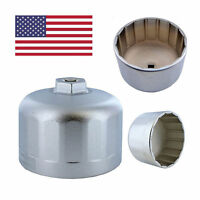 Oil Filter Wrench Cap Housing Tool Remover 16 Flutes 86mm Fit Car BMW