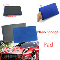 2pcs Nano Magic Clay Bar Mitt Car Wash Magic Clay Bar Cloth Pad Cleaning Towel