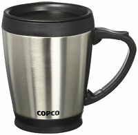 Copco Stainless Steel Desktop Mug, 16 oz., Each .