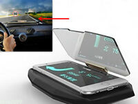 Auto GPS Navigation Holder HUD Head Up Projection Display Non-slip Phone Bracket