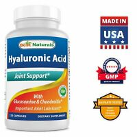 Best Naturals Hyaluronic acid 100 mg 120 Capsules - Youthful Skin