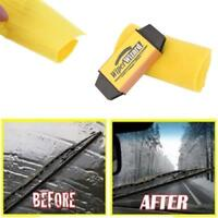 2x Car Auto Wiper Cleaning Brush Wizard Windshield Wiper Blade Restorer Cleaners
